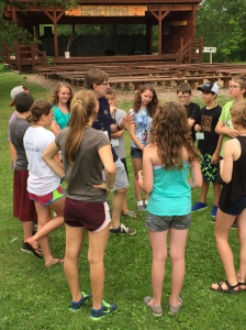 A photo from Episcopal Youth Quest Camp, held July 12-18 at Camp OneHeartland