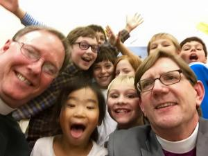 A photo from Sunday's Celebration of New Ministry for The Rev. Tom Cook at St. Stephen's, Edina.